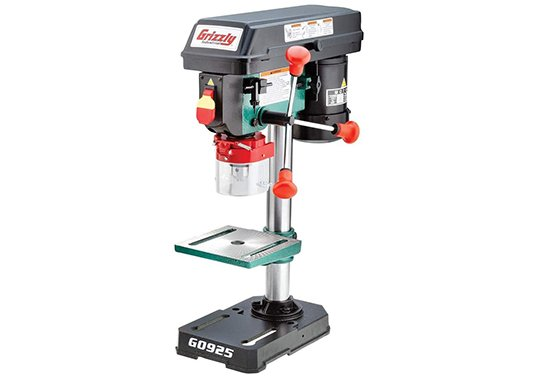 grizzly industrial g0925 benchtop drill press